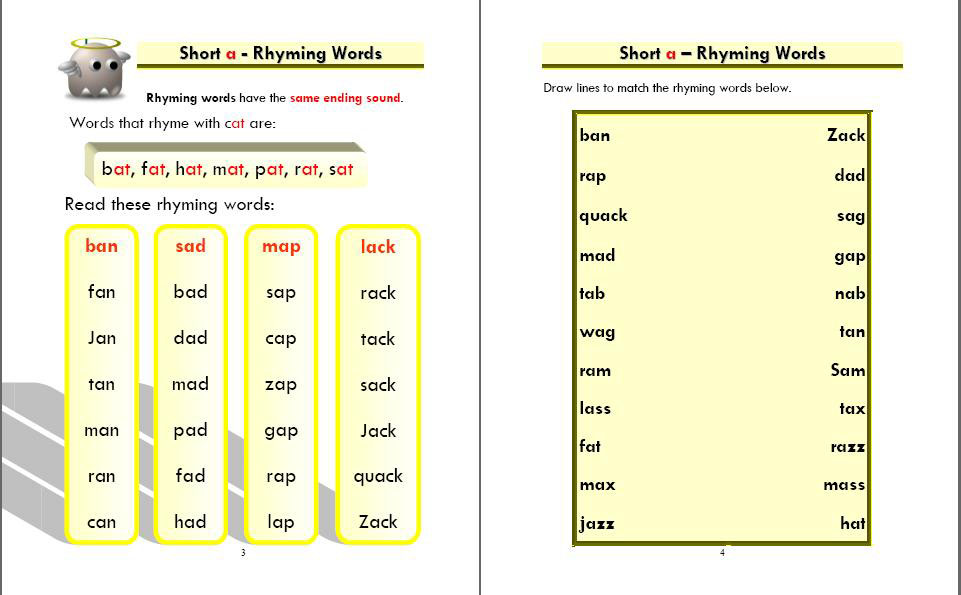 Phonics Monster Book 2 sample 2