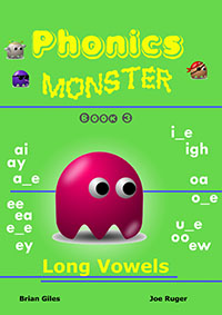 phonics monster book 3