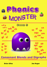 phonics monster book 4