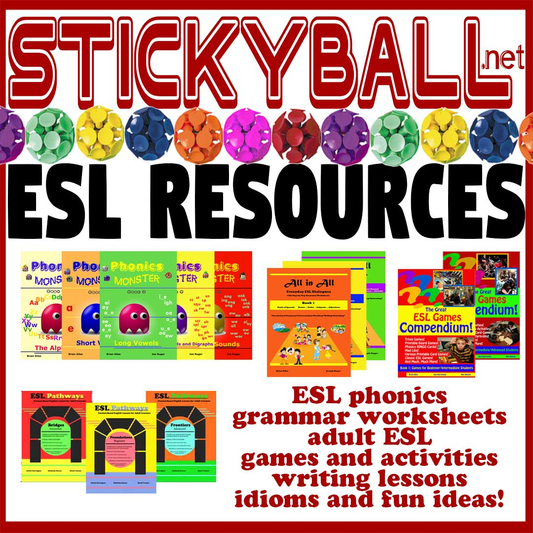 ESL Games, Activities, and Fun Ideas! -
